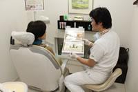 患者様の話をしっかりと聞いて治療を進めます